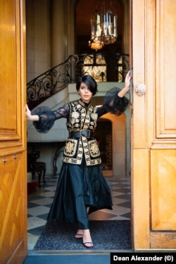 Afghan-American social media fashion influencer Safia