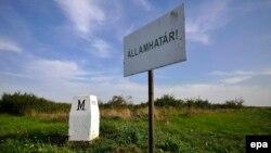 O piatră de hotar la granița româno-ungară