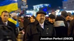 Ламберто Дзаннієр на Майдані, 4 грудня 2013 року