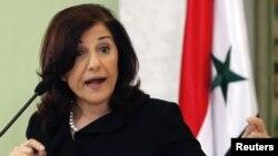 Посланець президента Сирії Башара Асада Бутейна Шаабан