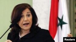 بثنیه شعبان، مشاور سیاسی ارشد رییس جمهوری سوریه
