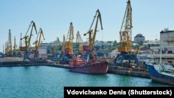 Одеський порт. Серпень 2015 року