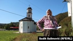Fata Orlovic has been fighting to have the church moved since 2000.