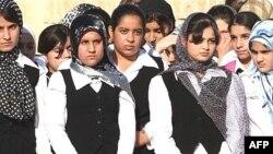 طالبات في مدرسة بأربيل