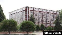Здание Минэкономразвития Таджикистана