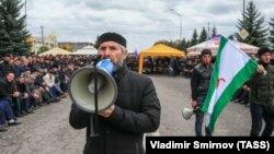 Протесты в Ингушетии продолжаются уже неделю