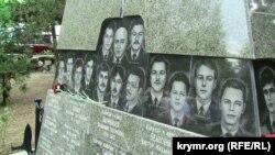 """Mormântul marinarilor de pe submarinul """"Kursk"""""""