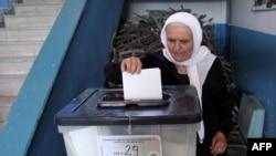 Гласањето на изборите во Албанија