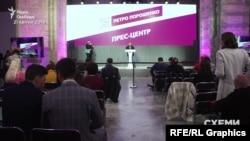 У день виборів у штабі Порошенка не було великого ажіотажу