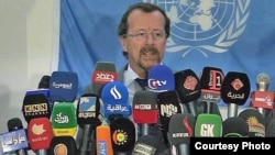 مبعوث الأمم المتحدة إلى العراق مارتن كوبلر (الارشيف)