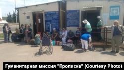 На КПВВ «Станица Луганская»