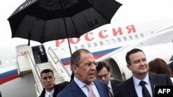 Ministri spoljnih poslova Rusije i Srbije, Sergej Lavrov i Ivica Dačić (Beograd, 16. jun 2014)