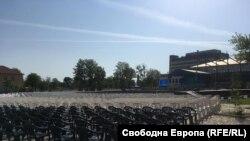 """""""София Тех Парк"""" е подготвен за Националната конференция на ГЕРБ, на която партийците очакват анализа на премиера Борисов за политическата обстановка в страната."""