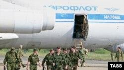 რუსეთის თვითმფრინავი სოხუმის აეროპორტში