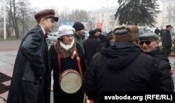 Віцебскі дзевяціклясьнік і сталыя прыхільнікі ленінскіх ідэй