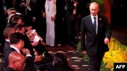 Владимир Путин в Брисбене. 15 ноября 2014 года