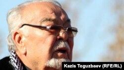 Актер әрі режиссер Асанәлі Әшімов. Алматы, 11 қараша 2011 жыл.