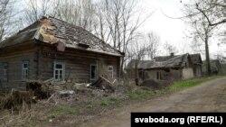 Село Савичі у Брагінському районі Гомельській області Білорусі