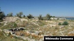 Греко-скіфське городище «Чайка», Крим