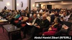 جانب من مؤتمر نسوي في أربيل لنصرة الأيزيديات