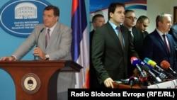 Milorad Dodik i predstavnici Saveza za promjene, Banjaluka