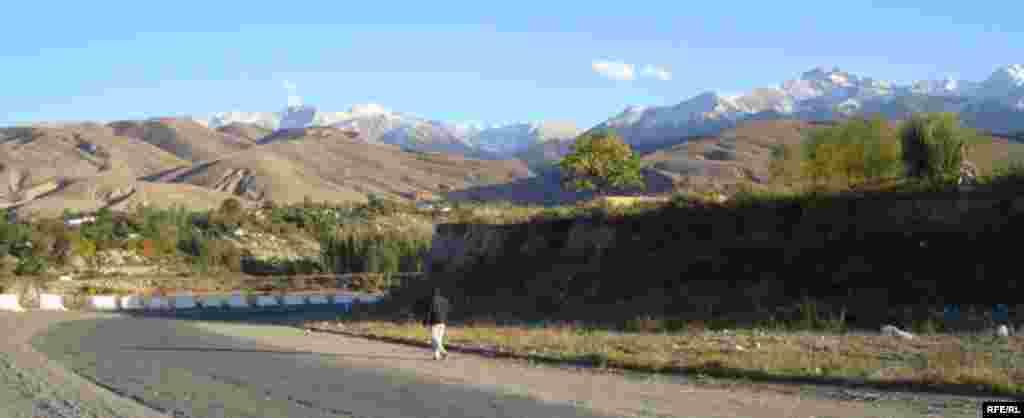 Осень в горах Иссык-Куля #17
