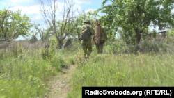 Українські снайпери йдуть на позиції