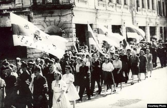 У Менску пад час Другой сусьветнай вайны