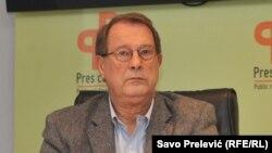 Boško Jakšić tvrdi da domaći političari slabo slušaju sugestije međunarodne zajednice (Podgorica, 4. novembar 2016.)