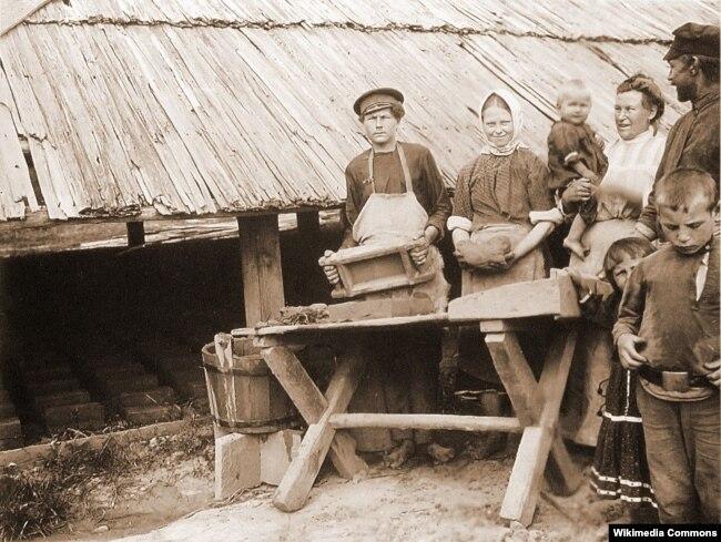 Ісак Сэрбаў. Вёска Гарадная на Століншчыне (1912 год)