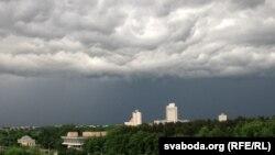 Неба над Менскам. 19.30