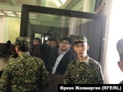 Қуандық Бишімбаев ісі бойынша сот процесі. 7 қараша 2017 жыл