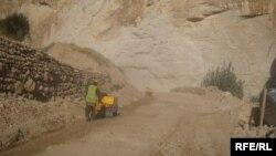 Рабочие угольной шахты в провинции Саманган. 22 сентября 2013 года.