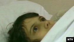 11-летняя Саша Бородулина сразу после освобождения оказалась в клинике педиатрической академии