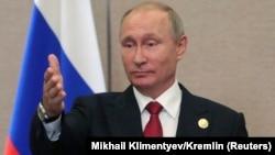 Владимир Путин, Ресей президенті.