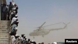 Хелихоптер на НАТО во Авганистан