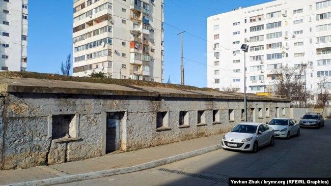Казематированная одноэтажная казарма форта «А5»