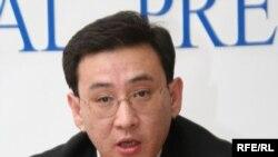 Следователь по особо важным делам КНБ Кайыржан Камзаев. Алматы, 2 декабря 2008 года.