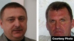Мікалай Аўтуховіч і Ўладзімер Асіпенка.