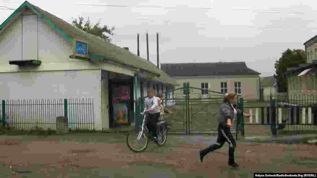 Вулицями села