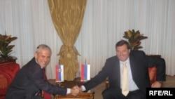 Boris Tadić i Milorad Dodik u Banjaluci
