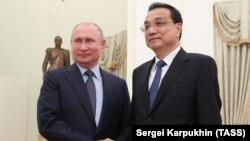 Ռուսաստանի նախագահն ընդունում է Չինաստանի վարչապետին, Մոսկվա, Կրեմլ, 18-ը սեպտեմբերի, 2019թ․