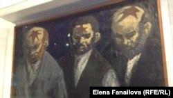 Картина из музея истории польских евреев, Варшава