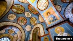 Інтер'єр Софійського собору в Києві, 7 січня 2019 року