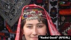 Узбечка из Хатлонской области Таджикистана