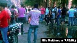 Fotografi nga protesta kundër filmit amator që tall profetin Muahmed në Kajro, Egjipt