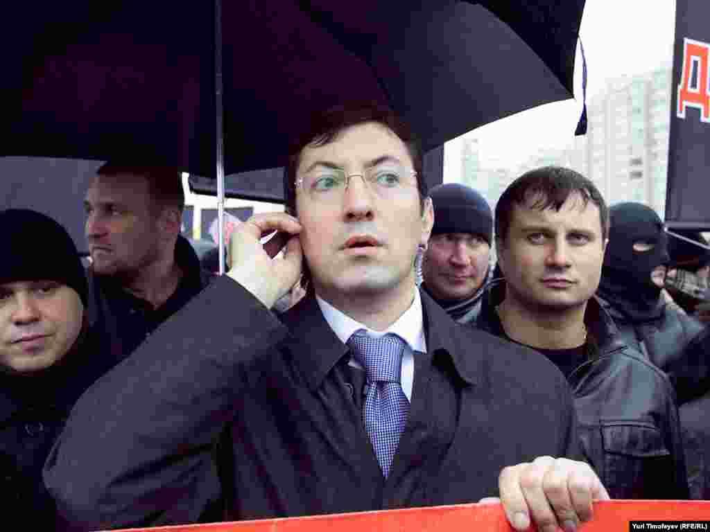 Лідер Руху проти нелегальної міграції Олександр Білов