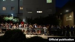 Гости Венецианского кинофестиваля перед открытием. 28 августа 2019 года.