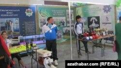 Türkmenistanyň kik-boksing milli merkeziniň sportsmenleriniň hem halkara ýaryşlarynda gazanan baýraklary, 5-nji noýabr, 2012.