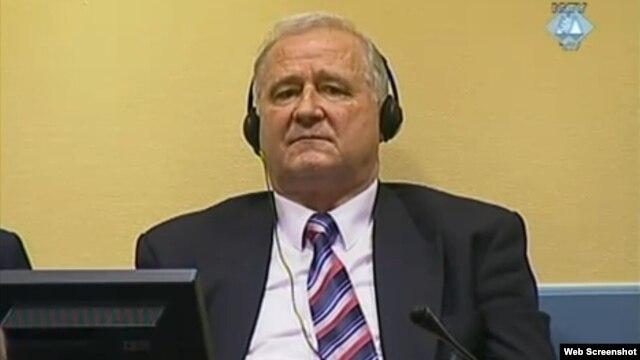 Dragoljub Ojdanić u sudnici u Hagu, 28. januar 2013.